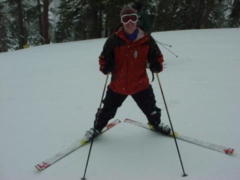 Isaac skiing at Heavenly